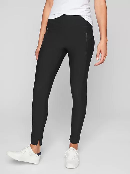 089a6b16379 These leggings are awesome! They keep you all tucked in with a high waist  and with a smooth material that keeps shirts from bunching up.